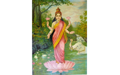 Pratique quotidienne de la Navaratri  #2: Maha Lakshmi