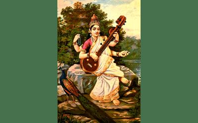 Navaratri Daily Practice #3: Maha Saraswati