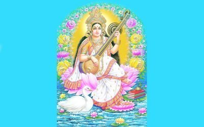 Pratique quotidienne de la Navaratri #3: Maha Saraswati