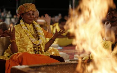 Agni and the transmutational flame of the yagya