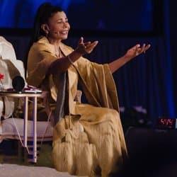 Chanting with H.H. Sai Maa