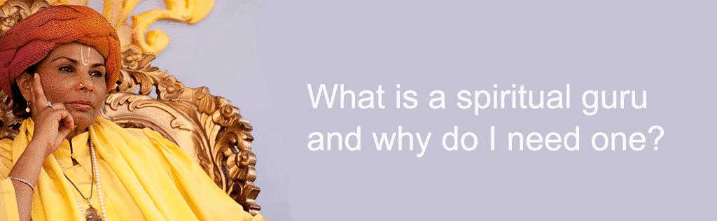 What is a spiritual guru